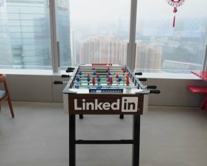 LinkedIn voetbaltafel