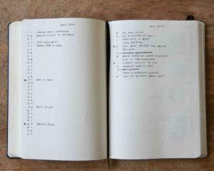 Emma legt uit hoe je een beginnetje maakt met je Bullet Journal.