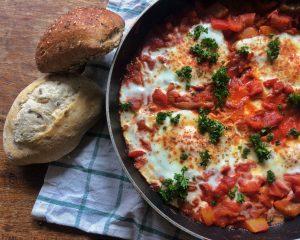 Vandaag in de Nationale Week Zonder Vlees: een recept voor Shakshuka.