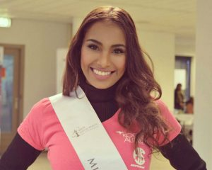 Shalini is één van de finalisten van de missverkiezing Miss Indian Beauty The Netherlands 2018.