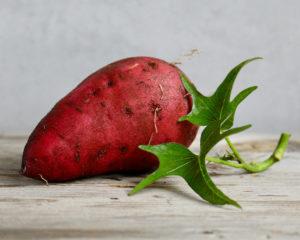 Zoete aardappelstamppot