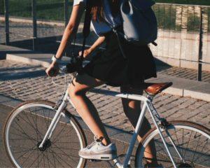 Pak de fiets naar het werk