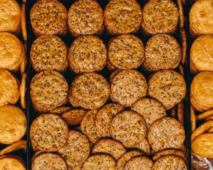 gezonde crackers recept