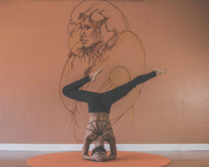 In balans door yoga