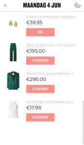 hier shop je de items