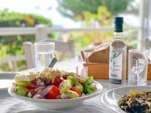 In Olympia kun je - net als in de rest van Griekenland - heerlijk eten.